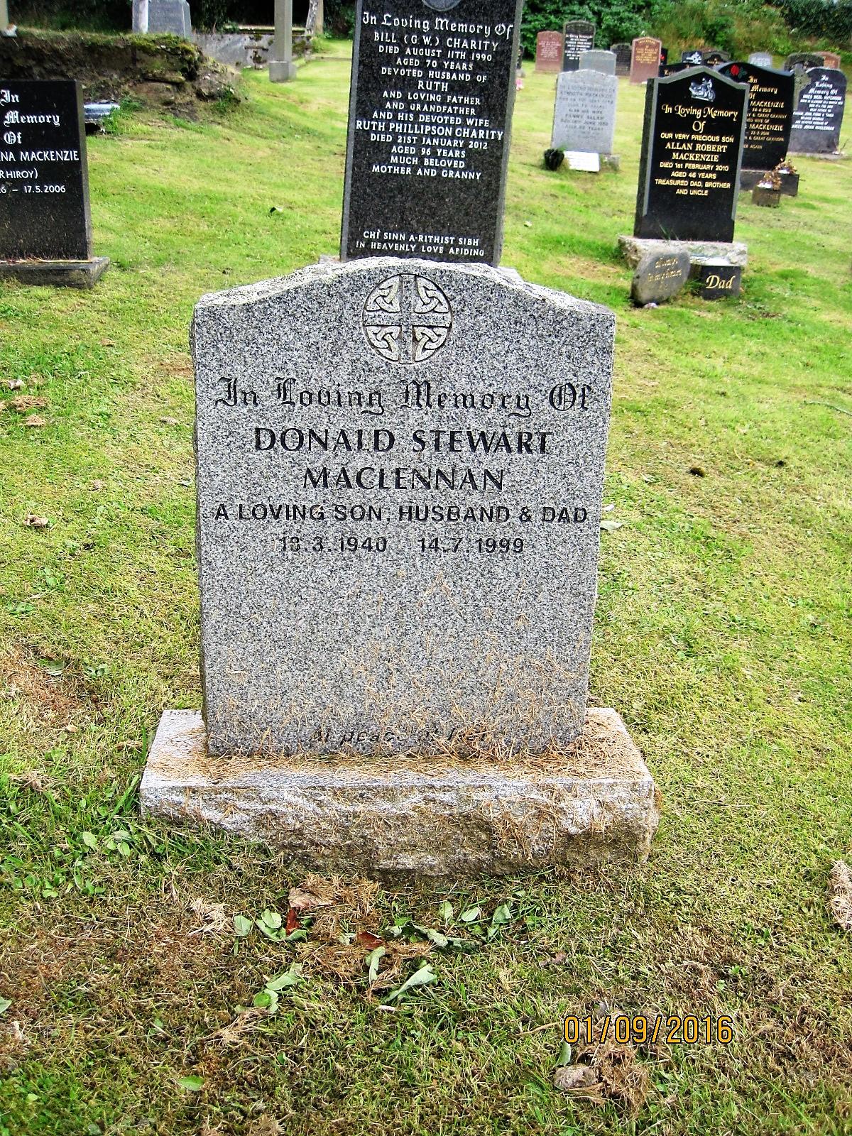 Donald Stewart Maclennan 1999