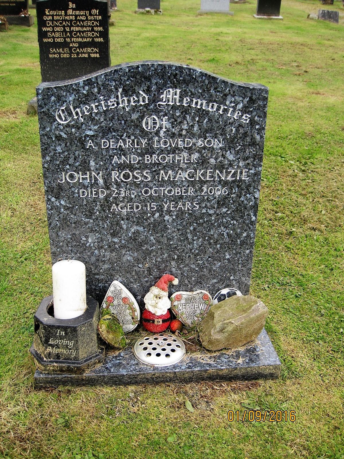 John Ross Mackenzie 2006