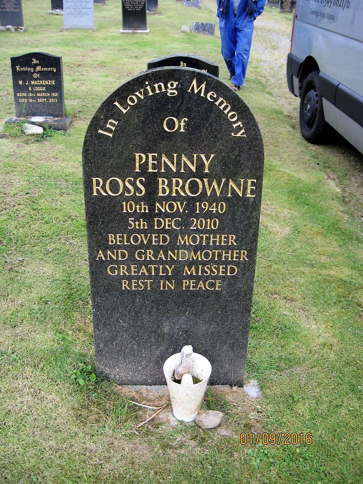 Penny Ross Browne 2010