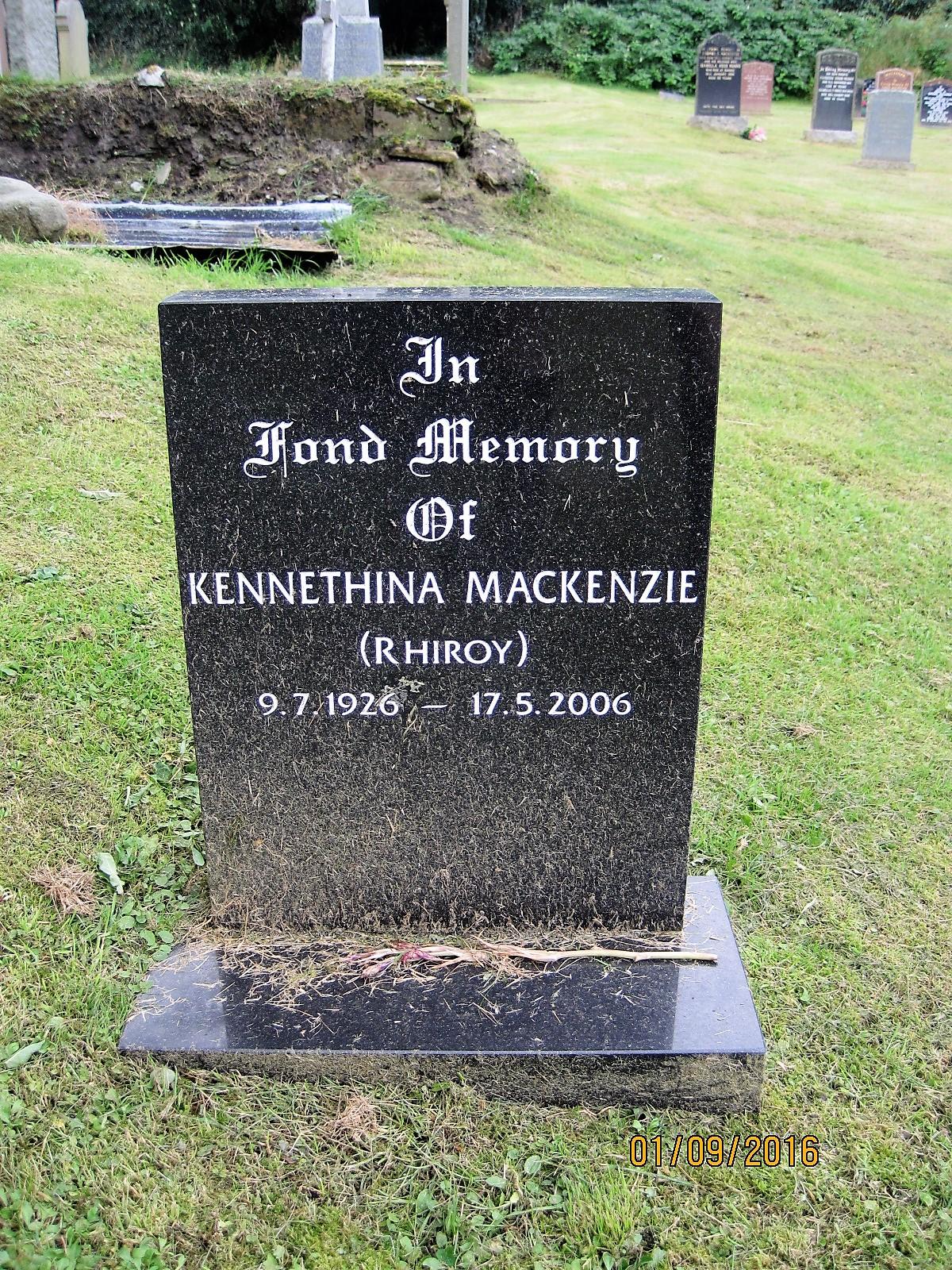 Kennethina Mackenzie 2006