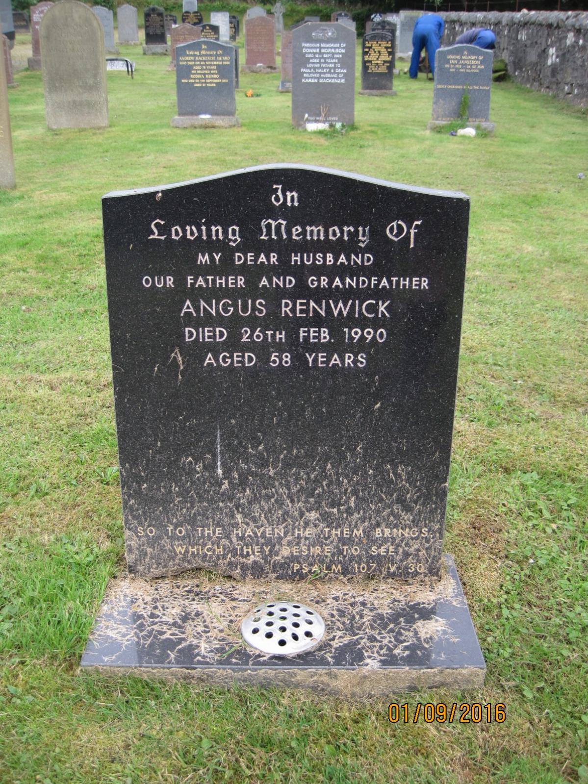Angus Renwick 1990
