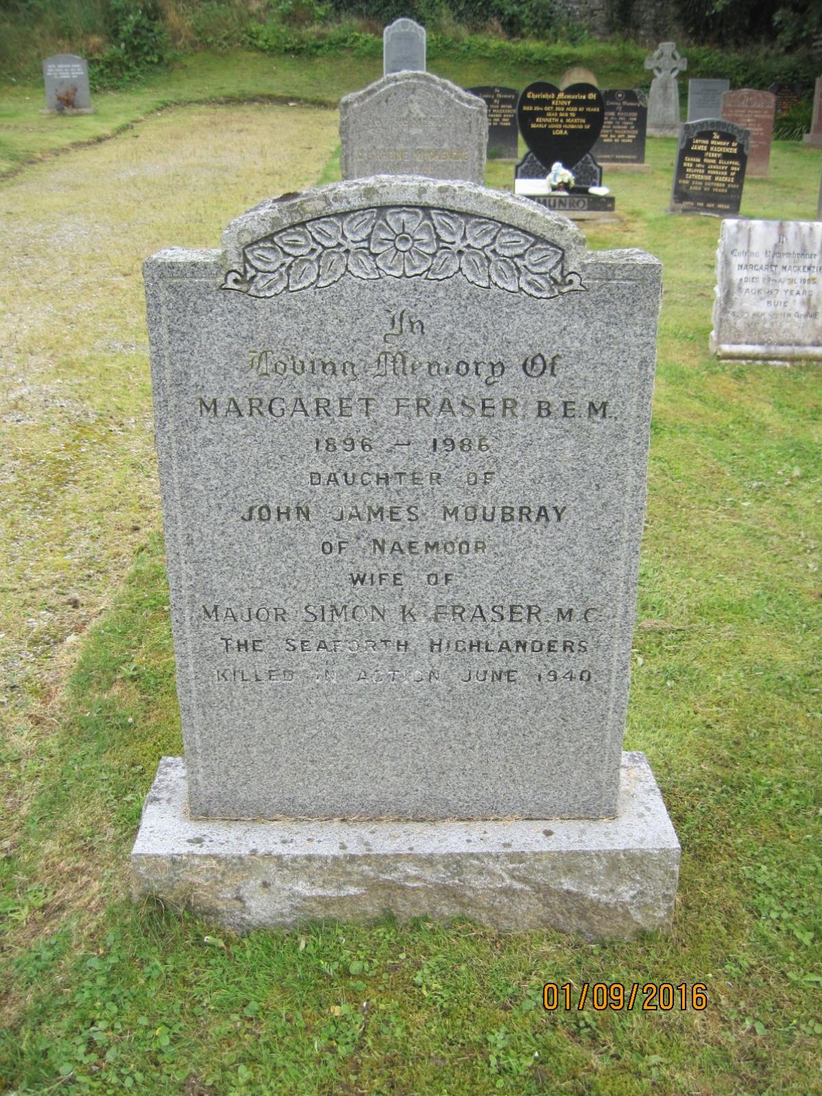 Margaret  Fraser 1981