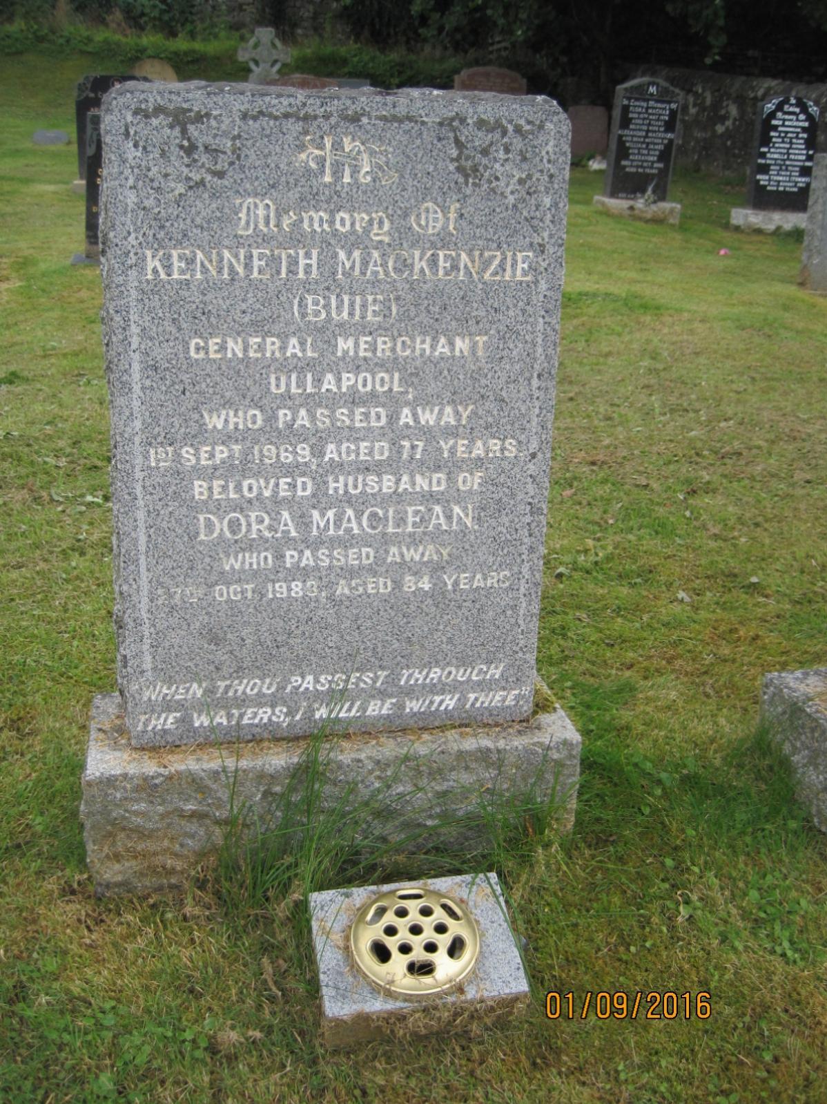 Kenneth Mackenzie 1969