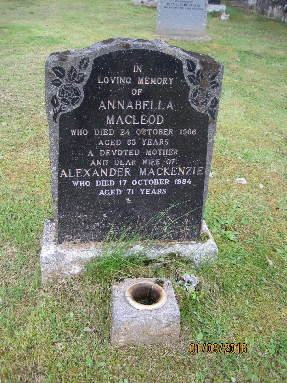 Annabella Macleod 1966