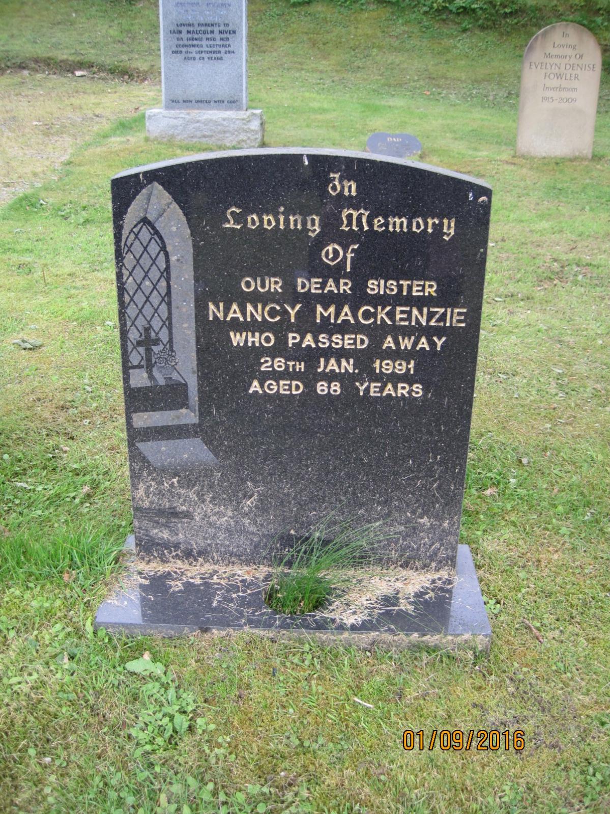 Nancy Mackenzie 1991
