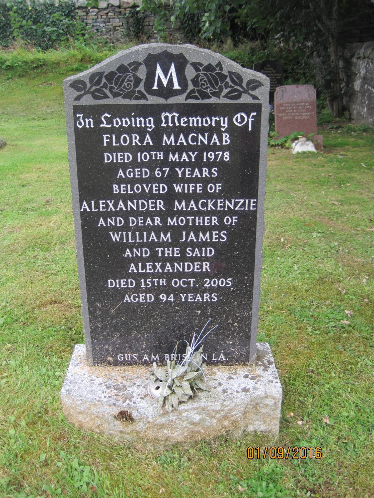 Flora Macnab 1978