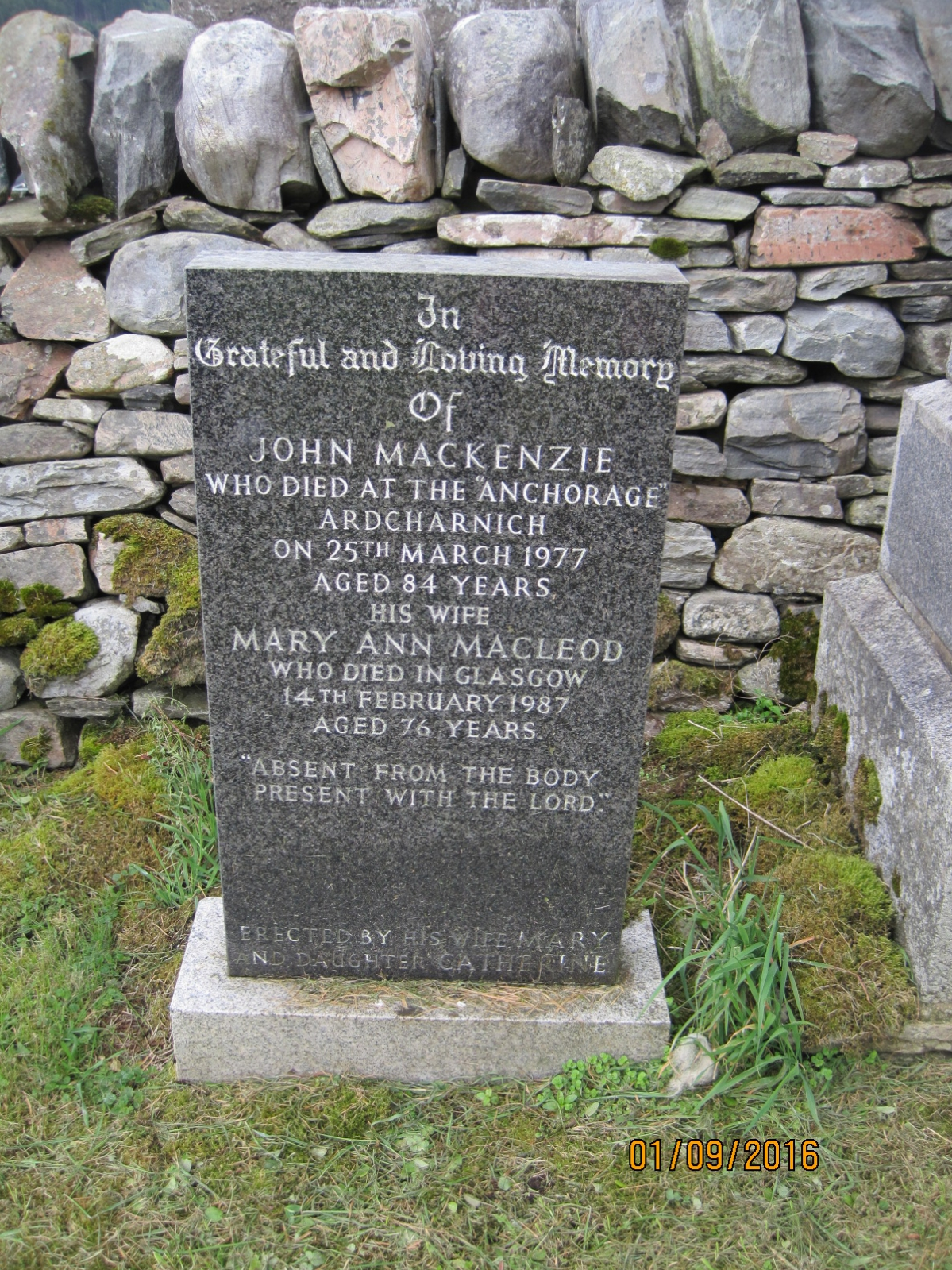 John Mackenzie 1977