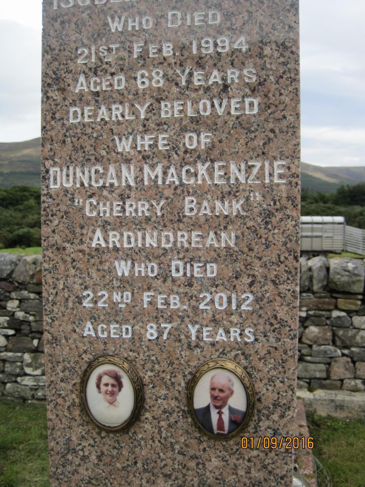 Duncan Mackenzie 2012