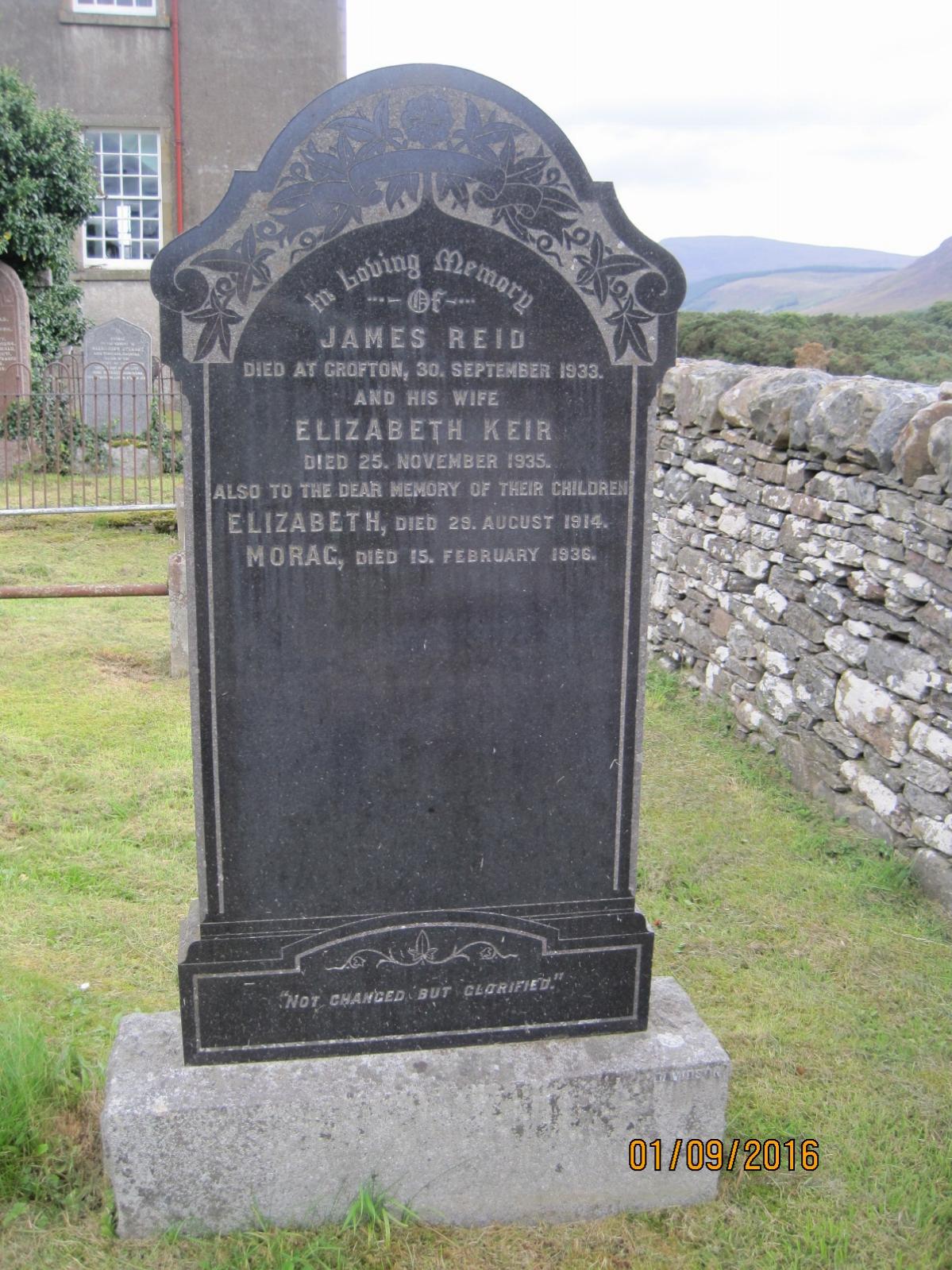 James Reid 1933