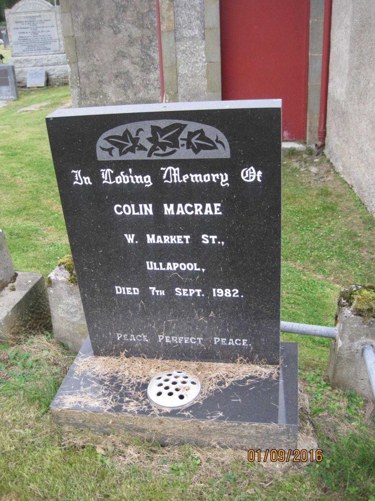 Colin Macrae 1982