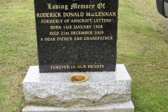 Roderick Donald Maclennan 2009