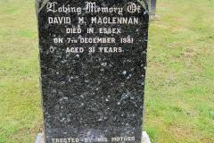 David M Maclennan 1981