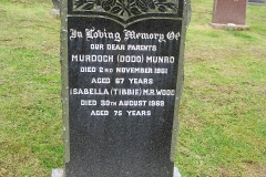 Murdoch 'Dodo' Munro 1985
