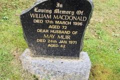 William Macdonald 1996