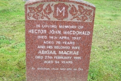 Hector John Macdonald 1987