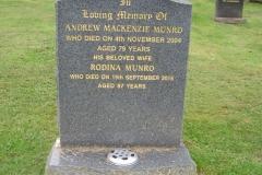 Andrew Mackenzie Munro 2004