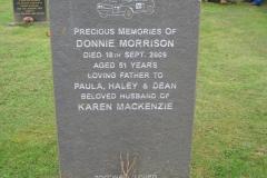 Donnie Morrison 2009