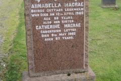 Annabella Macrae 1960
