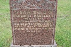 Margaret Mackenzie 1961