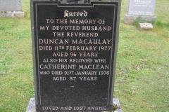 Duncan Macauly 1977