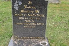 Mary C Mackenzie 2013