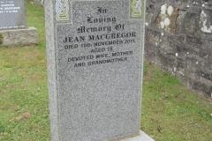 Jean Macgregor 2011