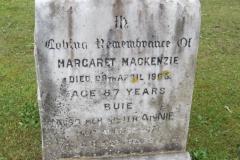 Margaret Mackenzie 1995