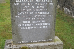 Alexander Mackenzie 1970