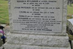 Roderick Maclennan 1924, Johann Mackenzie
